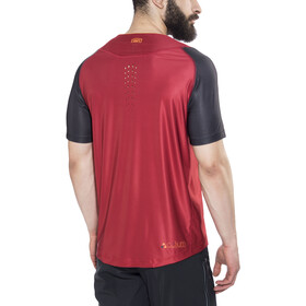 100% Celium Solid Bike Jersey Shortsleeve Men red